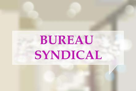 BUREAU SYNDICAL DU 23.01.2020
